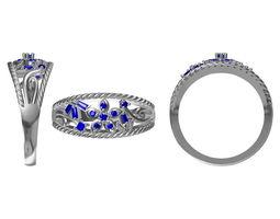 diamond ring 2339 3d