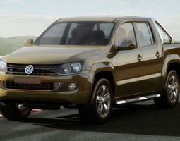 VW Amarok 3D model
