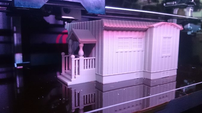 swedish house model 187 openrailway 3d model stl 1