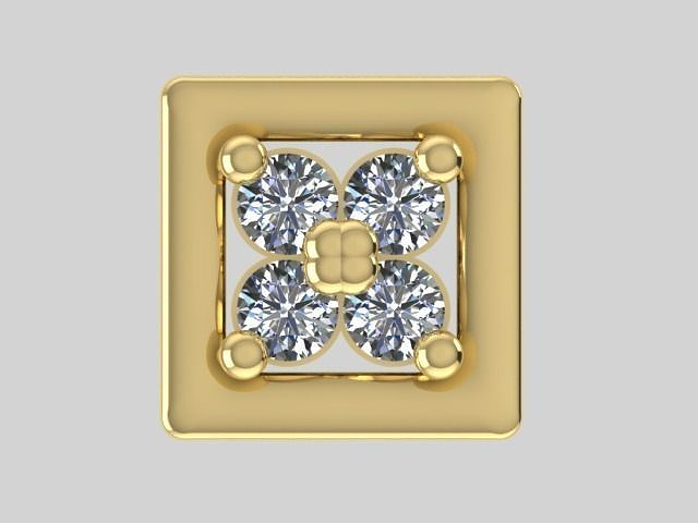 diamond earrings model - photo #26