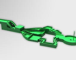 MiniGolf Game 3D printable model
