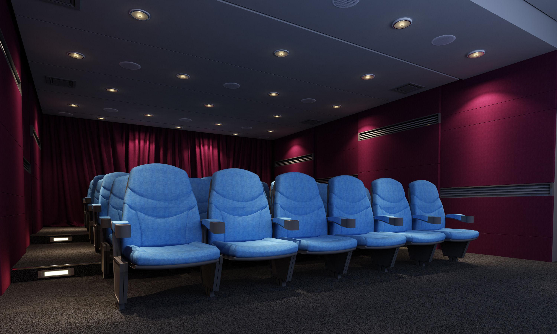 Mini Cinema Theatre 3d Model Max Cgtrader Com