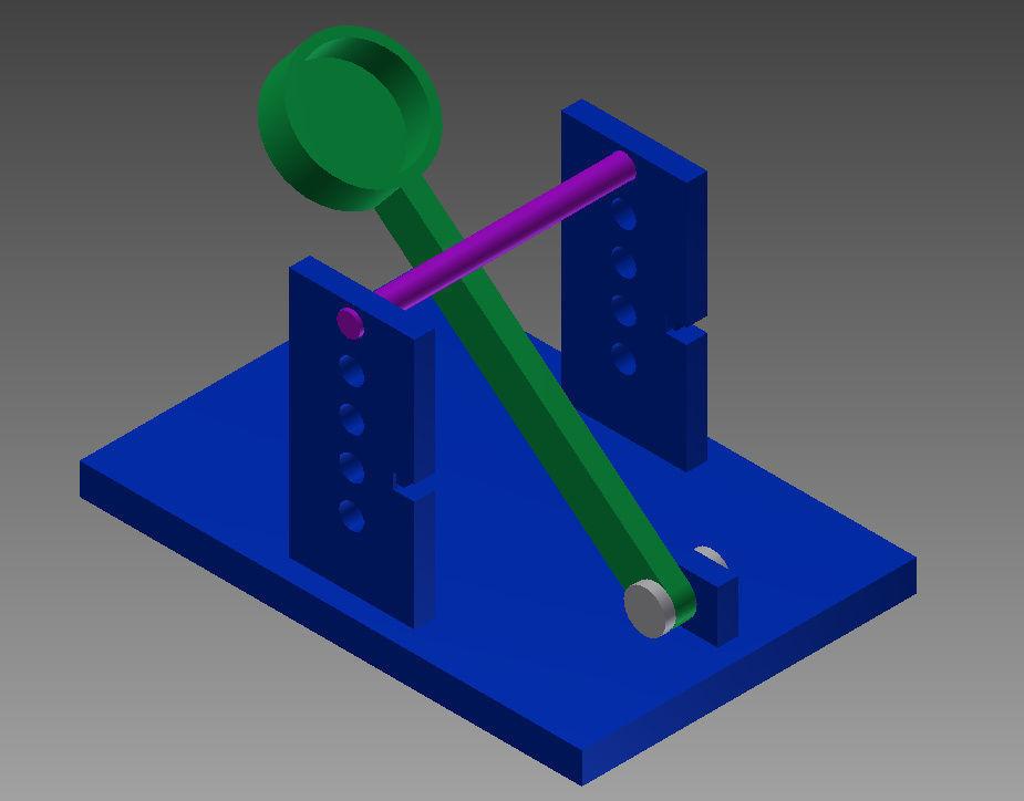 Physics Catapult Free 3d Model 3d Printable Stl Cgtrader Com