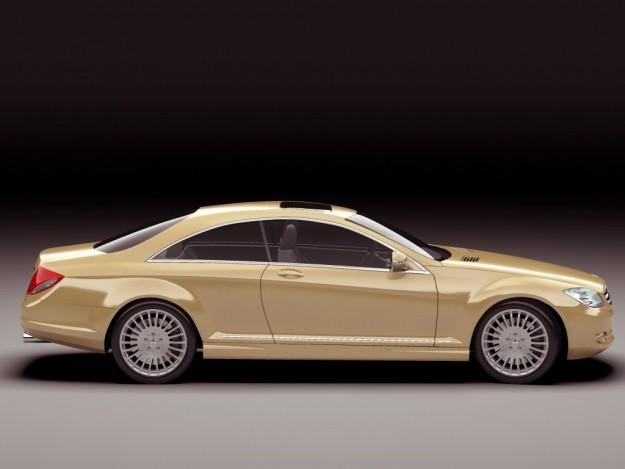 Mercedes cl 2007 3d model max obj 3ds fbx lwo lw lws for Mercedes benz 2007 models