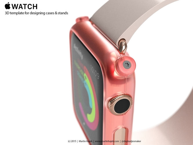 Apple Watch Edition - template for cases a...