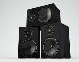 speaker music Speaker 3D