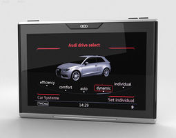 3D model Audi Smart Display