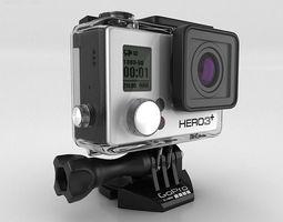 GoPro HERO3 Plus 3D Model