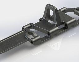 PzKpfw III ausf L tracks 3D Model