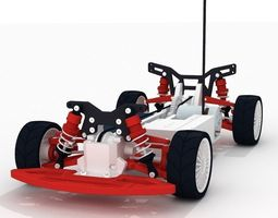 3D print model OpenRC 4WD Touring Concept RC Car