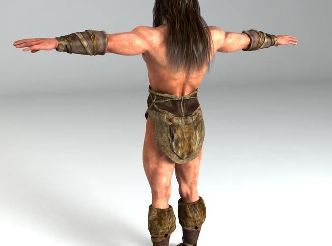 Warrior Man Rigged