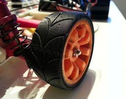 3d print model openrc experimental wheel dualstrusion