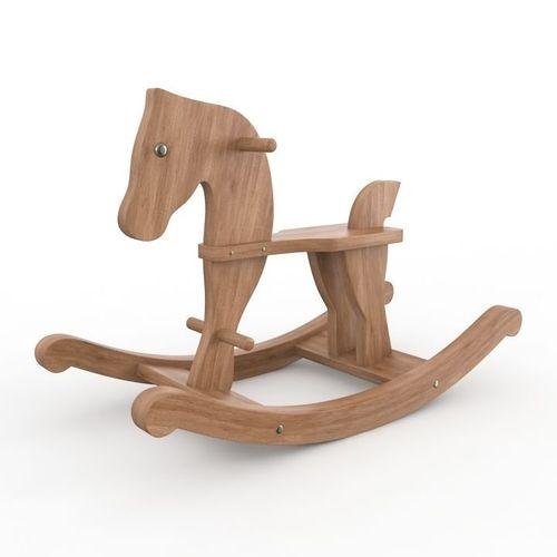 Wooden rocking horse3D model