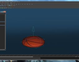 Basketball ball with rig 3D Model
