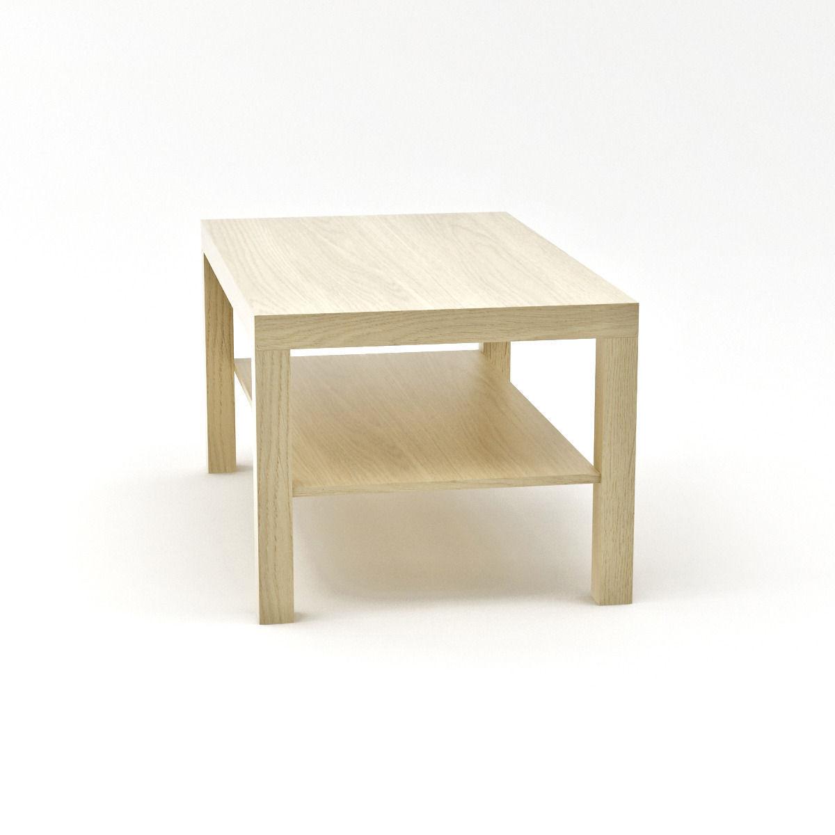 Ikea lack side table large 3d model max - Ikea table lack ...