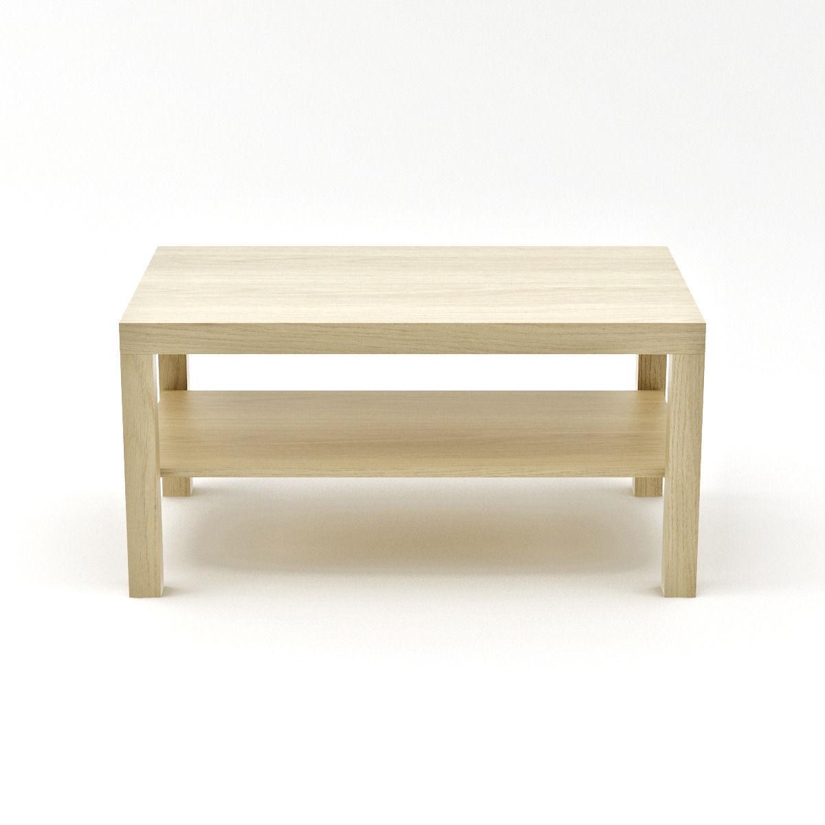 Ikea Lack Side Table Large 3d Model Max