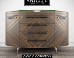 GIORGIO COLLECTION Vanity Art 920 Dresser 3D Model