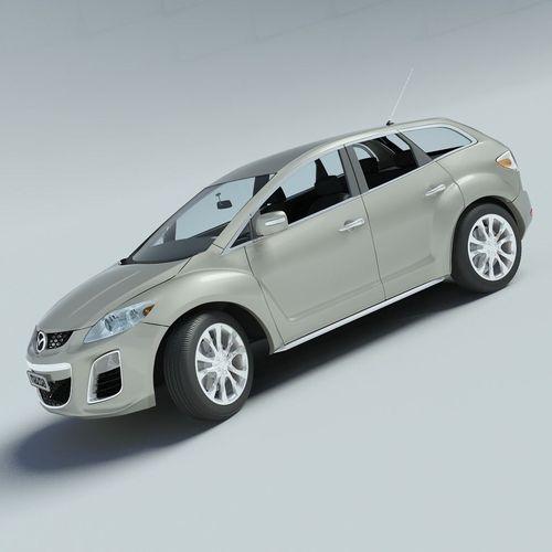 Mazda CX-7 20103D model
