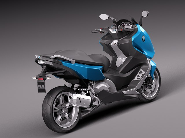 bmw c600 sport 2013 3d model max obj 3ds fbx c4d lwo. Black Bedroom Furniture Sets. Home Design Ideas