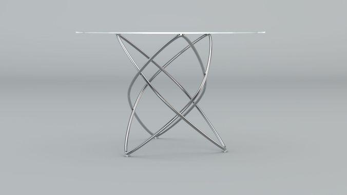 Manhattan Dining Table3D model