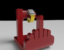 3D printable model F off watch holder