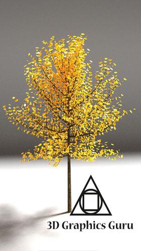 HD Tree3D model