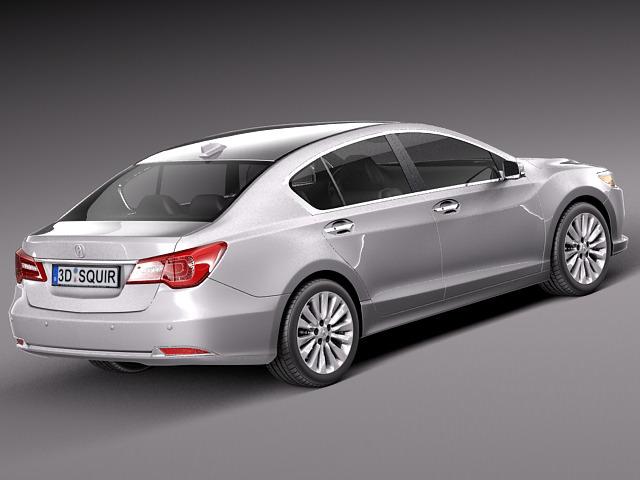 Acura RLX 2014 3D Model .max .obj .3ds .fbx .c4d .lwo .lw ...