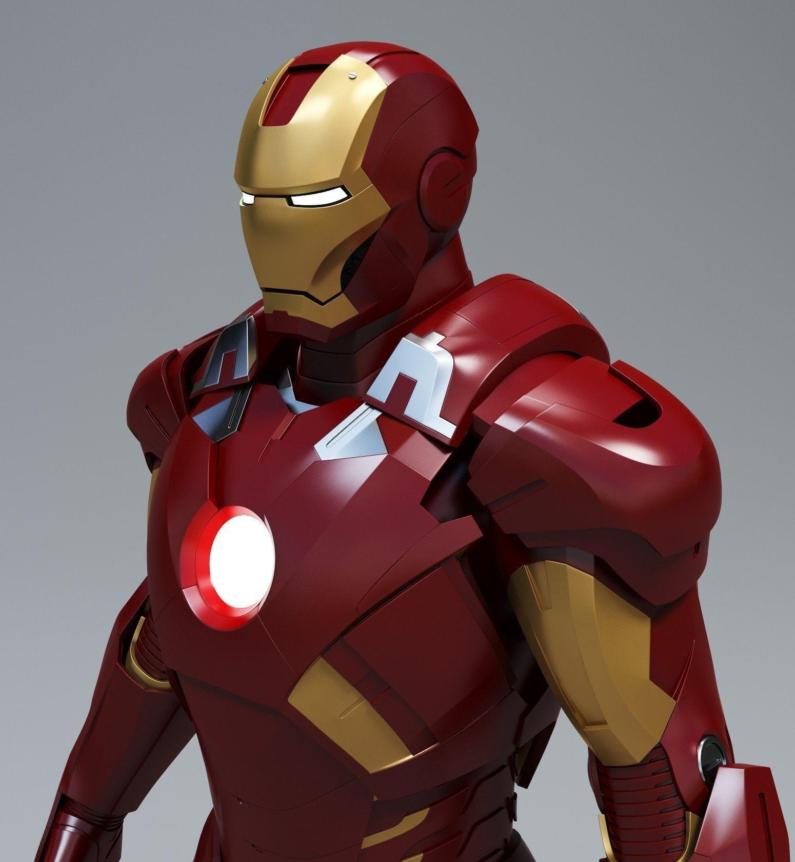 Iron Man Mark 7 | 3D model