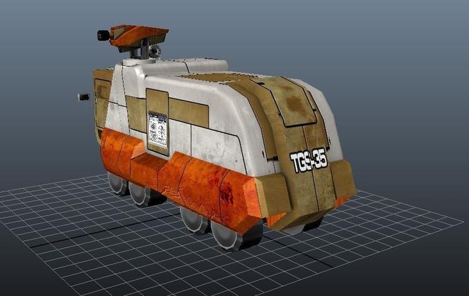 Armoured Truck3D model