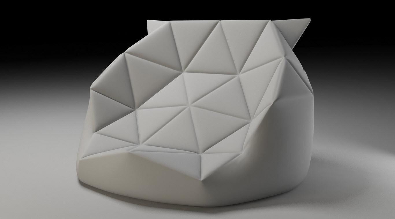 Marie Bean Bag 3d Model Max Obj Fbx Cgtrader Com