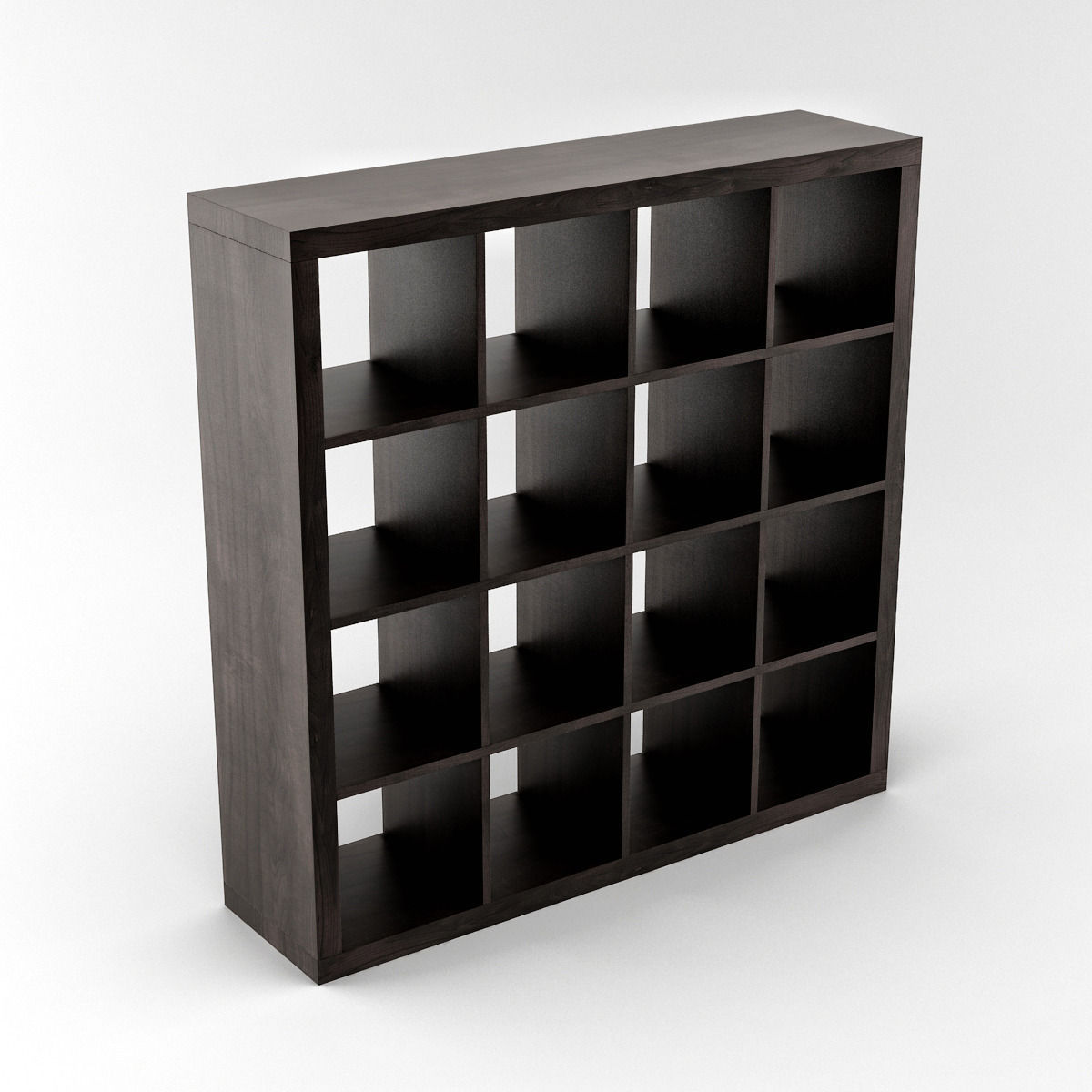 ikea expedit shelving unit 04 3d model max. Black Bedroom Furniture Sets. Home Design Ideas