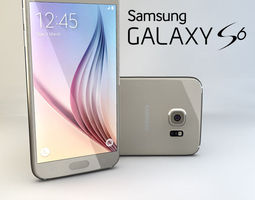 Samsung Galaxy S6 3D model