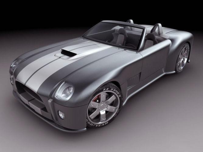Shelby Cobra Concept Car3D model