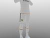 Real Madrid home soccer kit 3D Model
