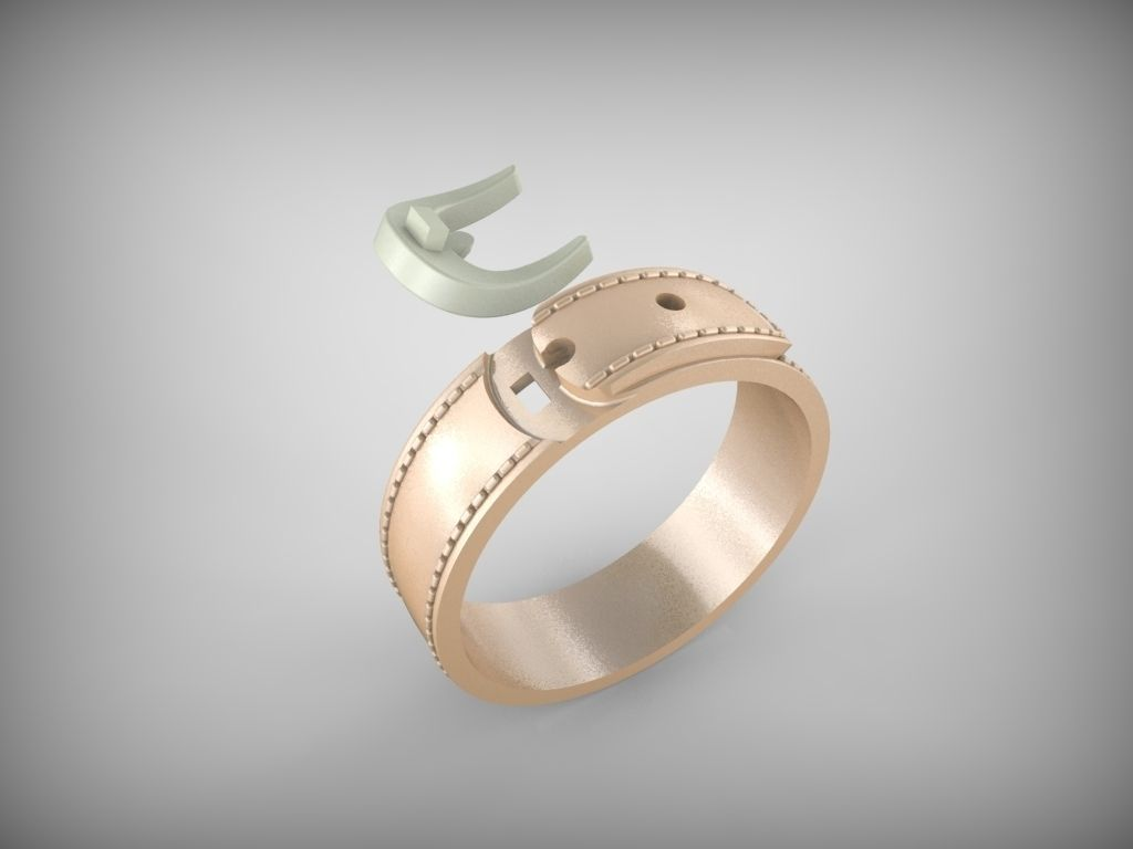 Ring Belt 3d Model 3d Printable Stl Cgtrader Com