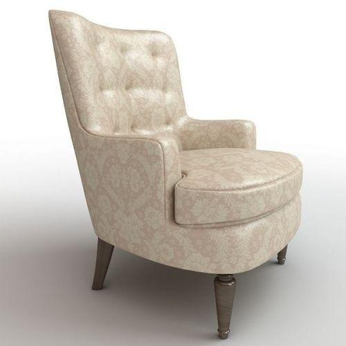 White Comfy Armchair3D model