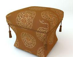 Ottoman 2 3D Model