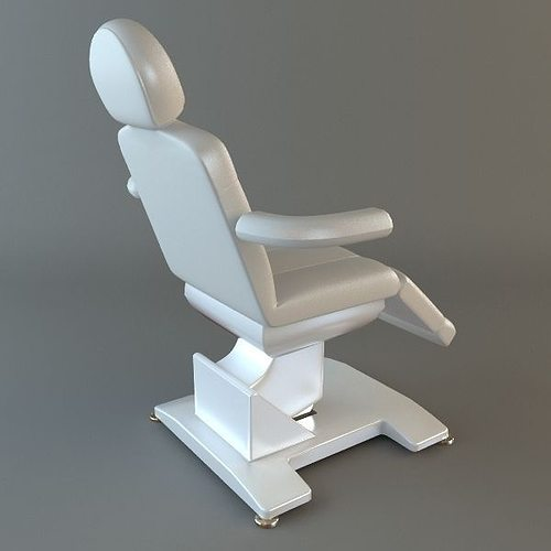 Dentist Chair Model Max Obj S Fbx Mtl 2