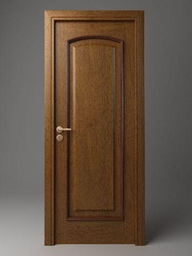 Wooden door 33D model