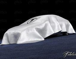 Tesla S 2013 3D model