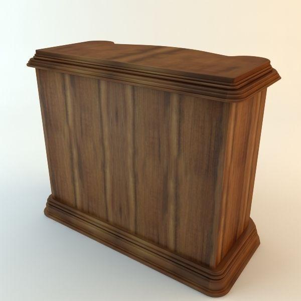 Kitchen Cabinet Part 3d Model Max Obj 3ds Fbx