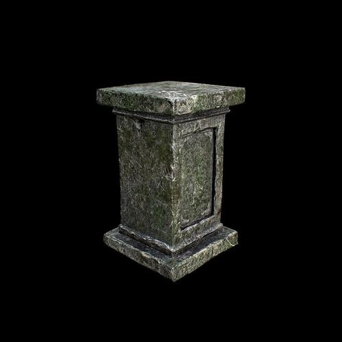 Old Column3D model