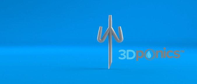 conduit - 3dponics drip hydroponics 3d model obj mtl stl sldprt sldasm slddrw 1
