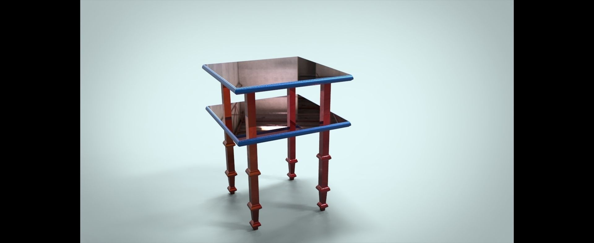 Side table 3d model game ready max stl dwg sldprt for Transmutation table 85 items
