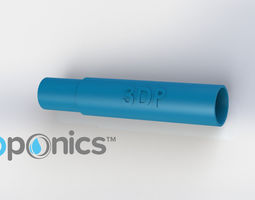 round support rod - 3dponics drip hydroponics
