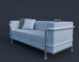 Modern Couch 3D model