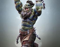 Ork berserk 3D printable model