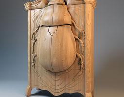 Beetle Cabinet 3D Model