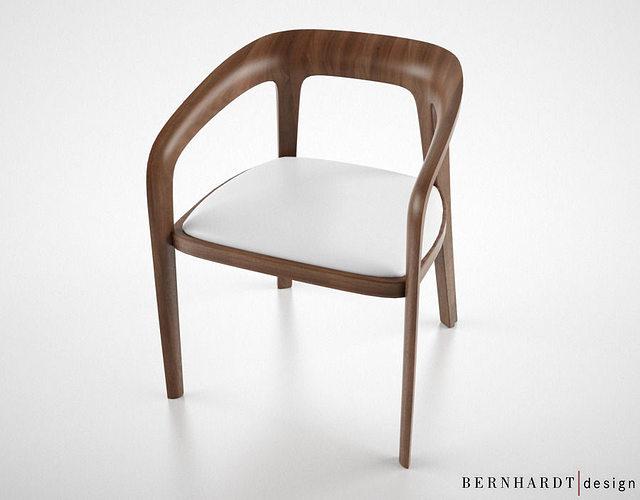 Bernhardt design corvo side chair 3d model cgtrader for New model chair design