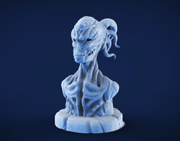 3D printable model Demon sculpture